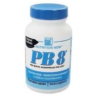 Nutrition Now PB 8 acidophilus 500 mg capsules -120 ea