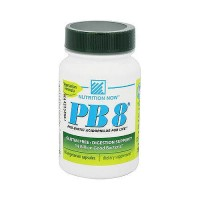 Nutrition Now PB 8 Pro-biotic acidophilus 500 mg vegetarian capsules - 60 ea