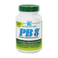 Nutrition Now PB 8 Probiotic Acidophilus Capsules For Life - 120 ea