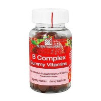 Nutrition Now B complex adult gummy vitamins, Strawberry - 70 ea