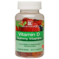 Nutrition now vitamin d gummy vitamins - 75 ea