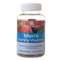 Nutrition now mens gummy vitamins - 70 ea