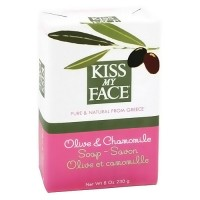 Kiss My Face Olive and Chamomile soap bar - 8 oz
