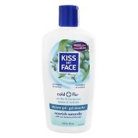 Kiss My Face Cold and Flu Shower Gel with Botanical Blends - 16 oz