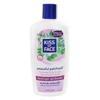Kiss My Face harmonizing bath and shower gel with Peaceful patchouli - 16 oz