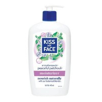 Kiss my face moisturizer peaceful patchouli - 16 oz