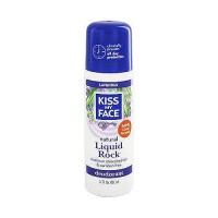 Kiss My Face liquid rock lavender roll-on deodorant - 3 oz