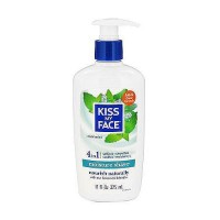 Kiss My Face Moisture shave, cool mint - 11 oz