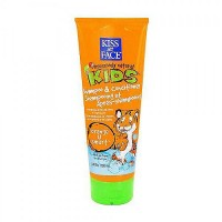 Kiss My Face orange U smart hair shampoo and hair conditioner for kids - 8 oz