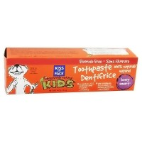 Kiss My Face Kids fluoride free toothpaste, Berry smart - 4 oz