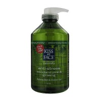 Kiss My Face anti-stress relaxing bath and shower gel - 32 oz