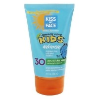 Kiss My Face natural mineral sunblock lotion SPF 30 for kids - 4 oz