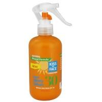 Kiss my face mineral sun spf 30 spray lotion  -  8 Oz