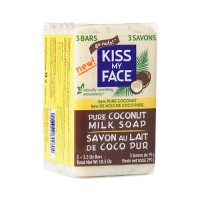 Kiss my face pure coconut milk soap 3 pack - 10.5 oz