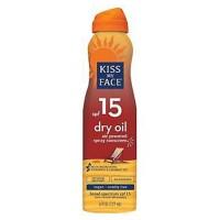 Kiss my face dry spray oil sunscreen continuous spray - 6 oz