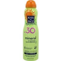 Kiss my face mineral air powered spray sunscreen - 6 oz