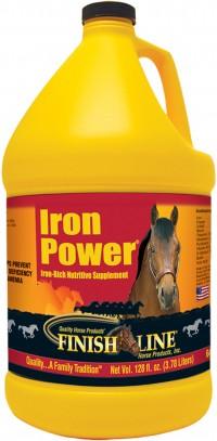 Finish Line iron power iron-rich nutritive horse supplement - 128 ounce, 4 ea