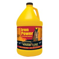 Finish Line iron power iron-rich nutritive horse supplement - 128 ounce, 4 ea