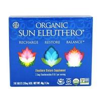 Sun chlorella organic eleuthero - 240 ea