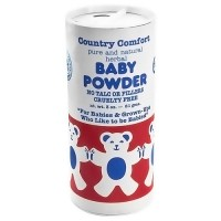 Country comfort pure and natural herbal baby powder, no talc - 3 oz
