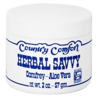 Country Comfort Herbal Savvy comfrey, Aloe vera - 2 oz, 2 ea