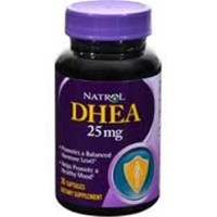 Natrol DHEA 25mg Harmone Balanced Tablets, 180 ea