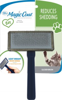Four Paws Products Ltd tender touch slicker wire brush for cats - 72 ea