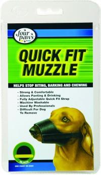 Four Paws Products Ltd quick fit dog muzzle -  2, 48 ea
