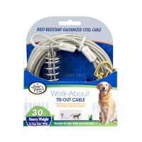 Four Paws - Container four paws dog tie out cable- heavyweight - 30 ft, 12 ea