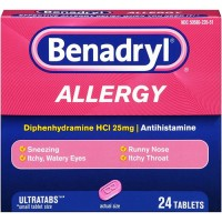 Benadryl allergy ultra tablets - 3 ea