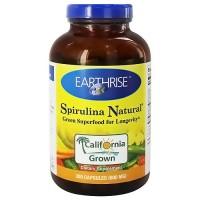Earthrise Spirulina Natural 600 mg Capsules - 300 ea