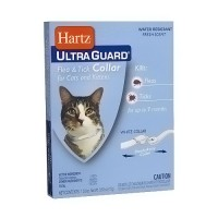 Hartz UltraGuard Flea and Tick White Collar for Cats - 0.53 oz
