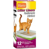 Hartz litter liners revetements inteneurs - 3 ea