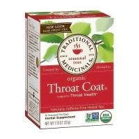 Traditional Medicinals Organic Throat Coat Herbal Tea Bags - 16 ea, 6 pack