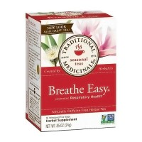 Traditional Medicinals Breathe Easy Caffeine Free Herbal Tea - 16 ea, 6 pack