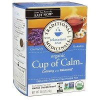 Traditional Medicinals Organic Easy Now Herbal Tea Bags - 16 ea, 6 pack