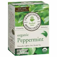 Traditional Medicinals Organic Peppermint Herbal Tea Bags - 16 ea