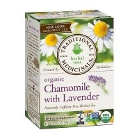 Traditional Medicinals Organic Chamomile With Lavender Herbal Tea Bags - 16 ea