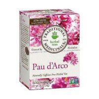 Traditional Medicinals Pau d Arco Caffeine free Herbal Tea Bags, 16 ea, 6 pack