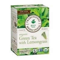 Traditional Medicinals Organic Green Tea and Lemongrass Bags - 16 ea, 6 pack