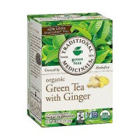 Traditional Medicinals Organic Green Tea with Ginger Herbal Tea Bags - 16 ea, 6 pack