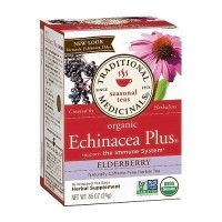 Traditional Medicinals Organic Echinacea Elder Herbal Tea Bags - 16 ea