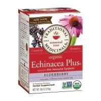 Traditional Medicinals Organic Echinacea Elder Herbal Tea Bags - 16 ea