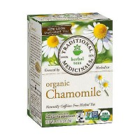 Traditional Medicinals Caffeine Free Organic Chamomile Herbal Tea Bags - 16 ea, 6 pack