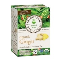 Traditional Medicinals Caffeine Free Organic Ginger Herbal Tea Bags - 16 ea