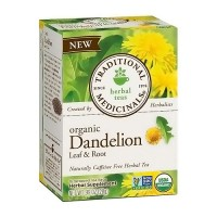 Traditional Medicinals Organic Roasted Dandelion Root Herbal Tea Bags - 16 ea