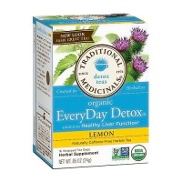 Traditional Medicinals Everyday Detox Herbal Tea Bags, Lemon - 16 ea, 6 pack