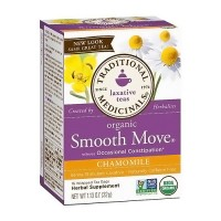 Traditional Medicinals Chamomile Smooth Move Senna Herbal Tea Bags - 16 ea