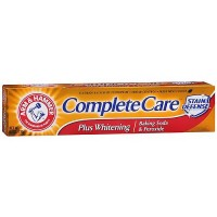 Arm and Hammer Complete Care Fluoride Toothpaste Plus Extra Whitening, Mint - 6 OZ