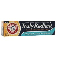 Arm and hammer truly radiant whitening toothpaste fresh mint - 4.3 oz